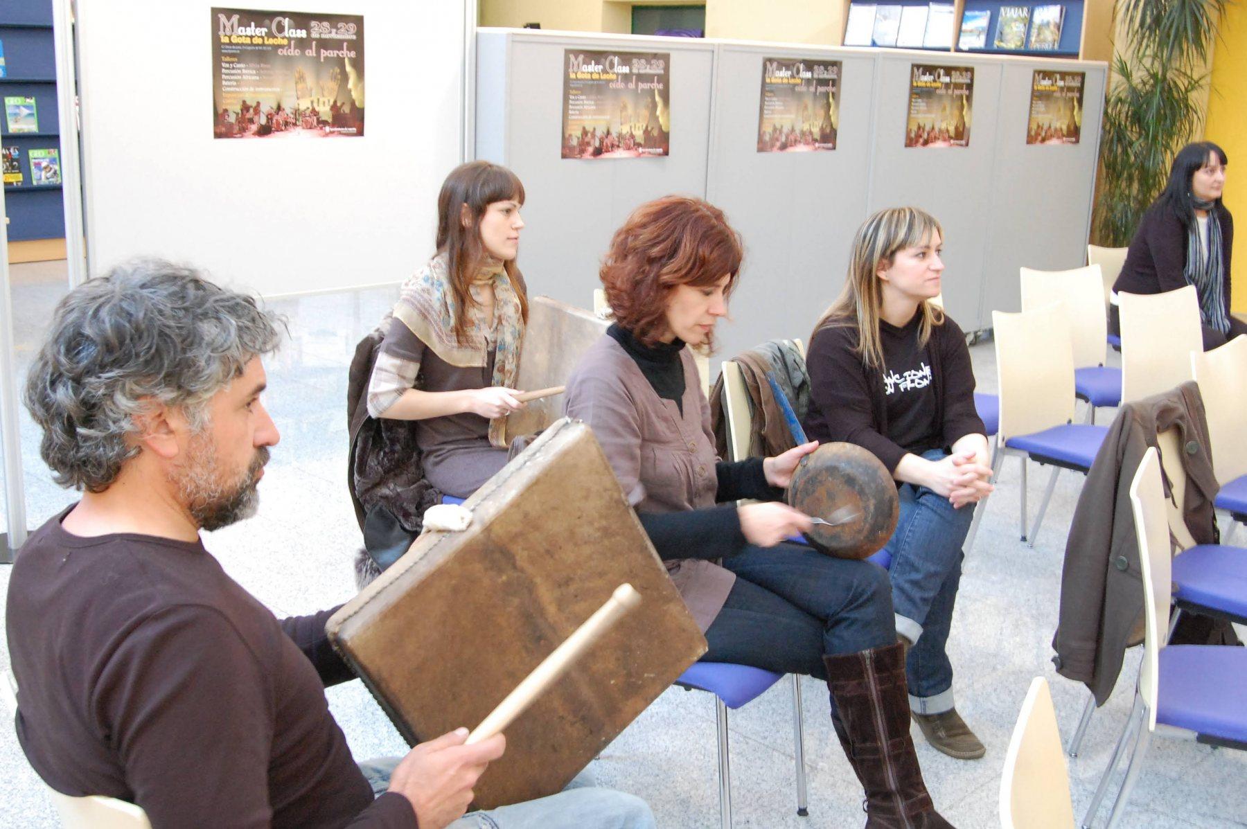 Masterclass instrumentos tradicionales