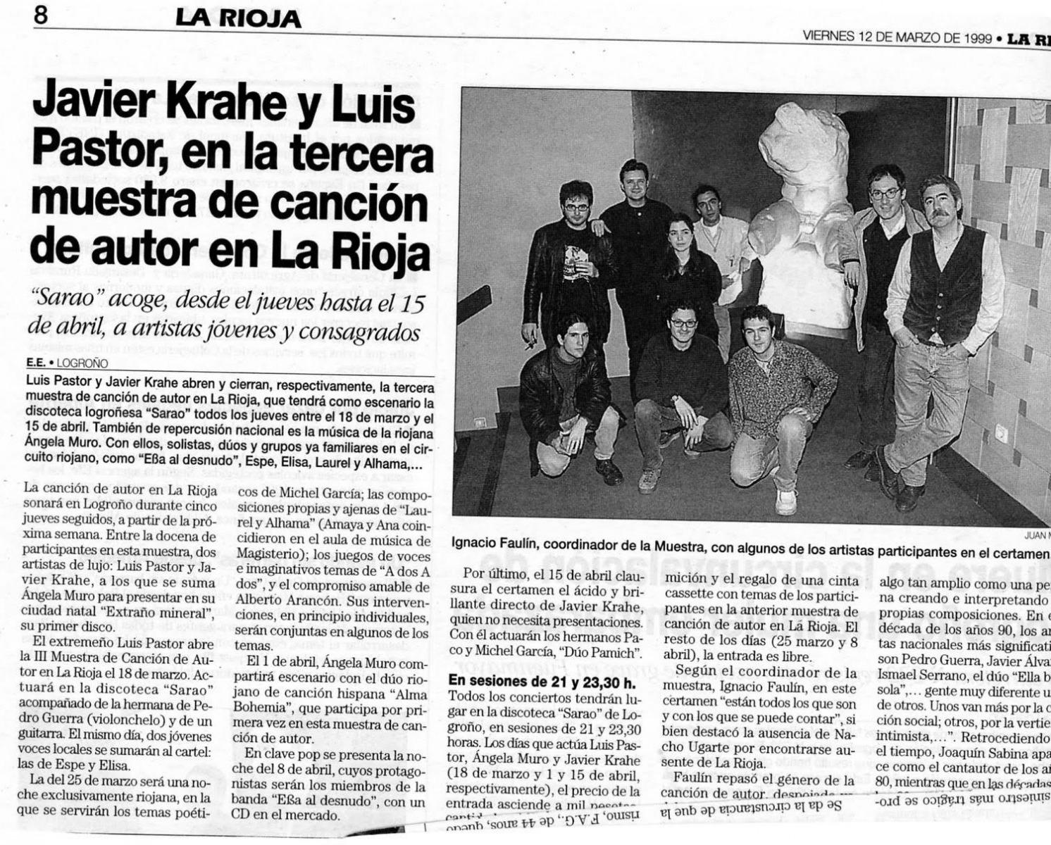 Krahe y Luis Pastor
